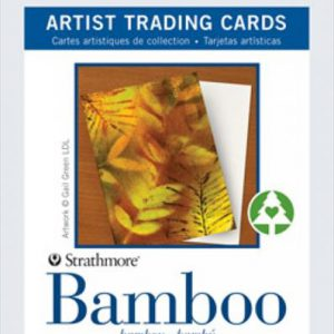Strathmore Trading cards bamboo 10 pack