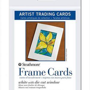 Strathmore trading cards frame cards 6 pack