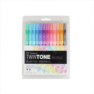Tombow Twin tone pastel set of 12