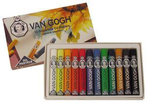 Van Gogh Oil Pastel Set of 12
