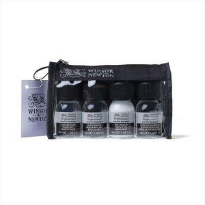 Winsor Newton Professional medium set 4 pack