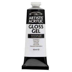 Winsor and Newton Artists acrylic gloss gel