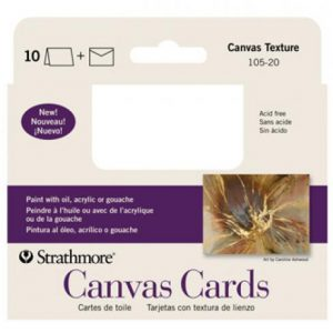 Strathmore Canvas Cards