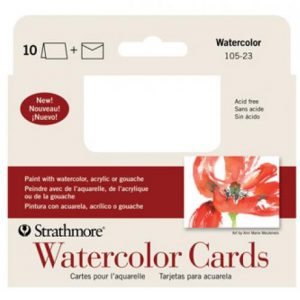 Strathmore Watercolor cards small 3.5x4.875