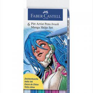 Faber-Castell PITT Artist Pens Shojo set