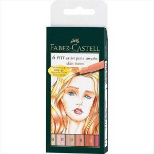 Faber-Castell Pitt Artist Pens brush skin tones