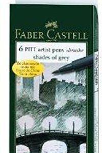 Faber-Castell Pitt artist pens brush shades of grey
