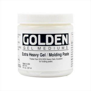 Golden Extra Heavy gel molding paste