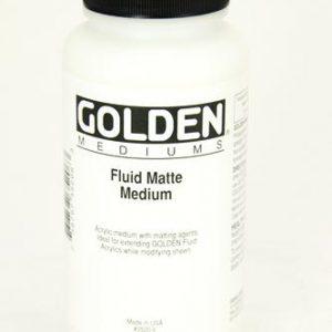 Golden Fluid matte medium