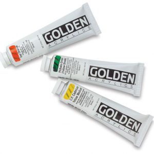 Golden Heavy body artist acrylic 2oz
