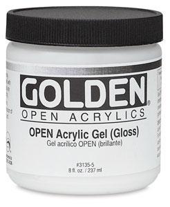 Golden Open Acrylic Gel