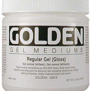 Golden Regular Gel