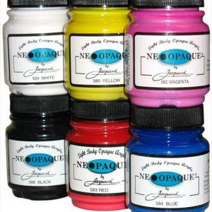 Jacquard Neopaque Acrylic Paint individual
