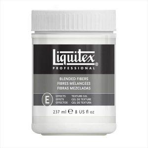 Liquitex blended fibers texture gel