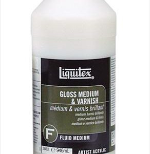 Liquitex Gloss Medium and varnish