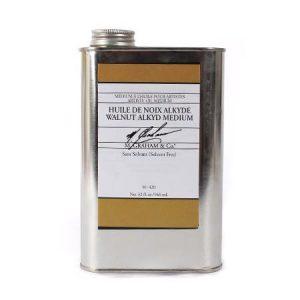 M.graham walnut alkyd medium