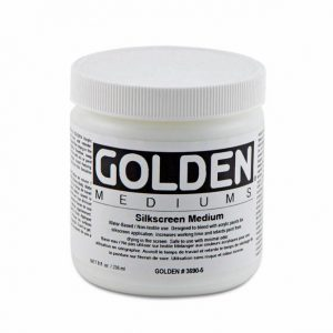 Golden Silkscreen medium