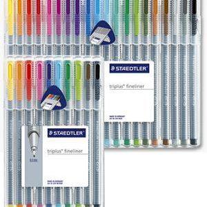 Staedtler Triplus Fineliner Pens Sets