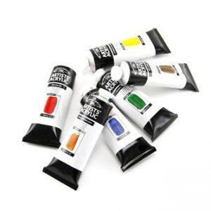 Winsor Newton Artist Acrylic 60ml tubes