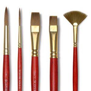Sceptre gold ii brushes