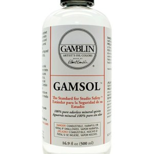 Gamblin Gamsol odourless mineral spirits