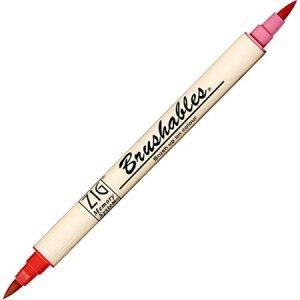 Zig Brushable Markers