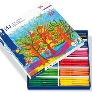 Steadtler 144 marker pen pack
